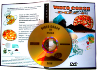 dvd video corso di pizza